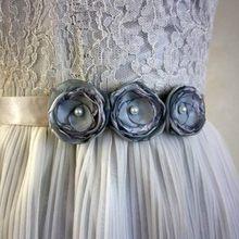 European And American Fashion Wedding Brides Flower Waist Belt Wedding Dress Wedding Dress Waist Dress Decoration Studio Shootin цена