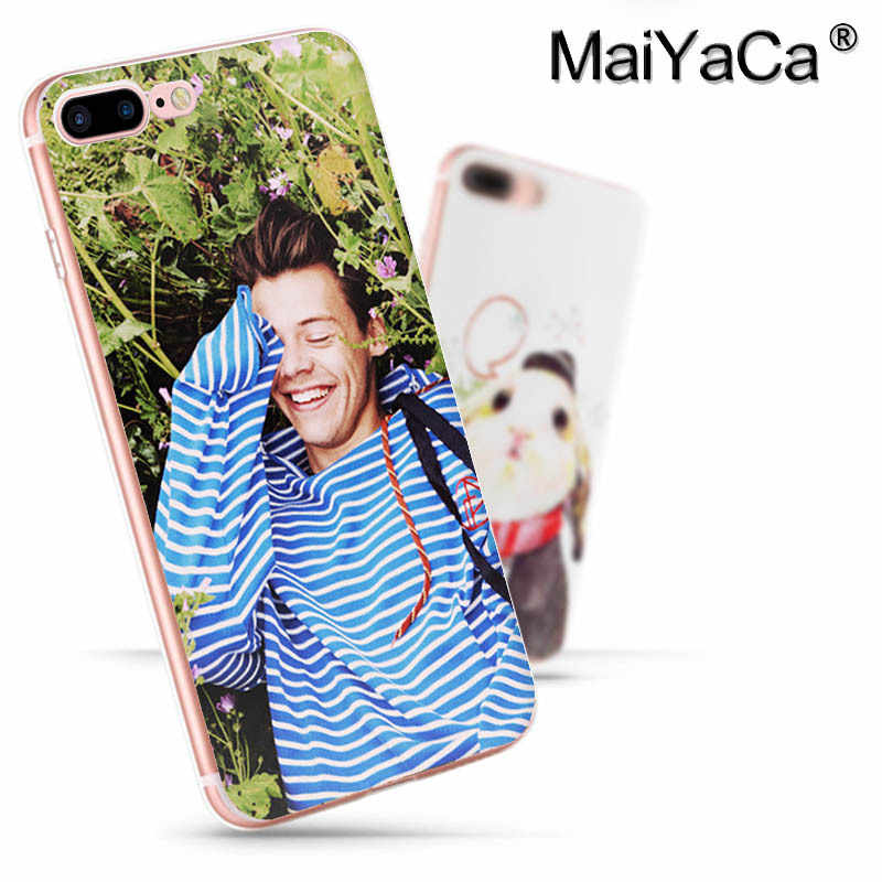MaiYaCa 歌手ハリースタイル最新のファッション電話ケースアップル iphone 11 プロ 8 7 66S プラス X 5S 、 SE XR XS XS 最大
