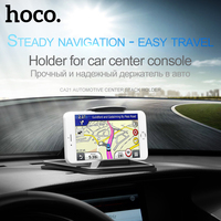 Hoco Car Phone Holder With Clip Car Styling GPS Support Tablet Up To 7 Inch Stand