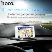 Hoco Suporte Do Telefone Do Carro com Clipe Carro-styling Suporte GPS Tablet até 7 polegada Suporte Universal para iPhone Samsung Xiaomi dashboard