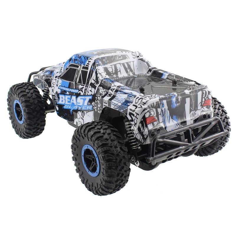 Радиоуправляемый автомобиль, высокий гоночный скоростной автомобиль, внедорожные сканеры, зверь 1:16 2,4 г 25 км/ч модель автомобиля, электронные хобби игрушки для детей подарок