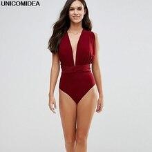 Multiway Bodysuits Sleeveless Skinny Infinity Playsuits Women Sexy Convertible Bohemian Bandage