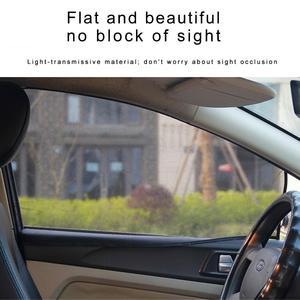 Image 3 - الصيف سميكة شبكة سيارة مظلات سيارة ستارة مغناطيسية الشمس الظل الأشعة فوق البنفسجية حماية شبكة نافذة جانبية الشمس