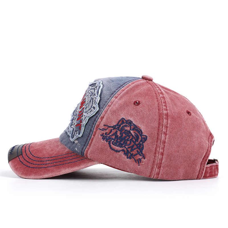 2019 جديد عارضة التطريز قبعة بيسبول خمر الورك هوب قبعة الربيع رجل امرأة الرياضة عالية الجودة غسلها القطن سائق الشاحنة قبعات للآباء