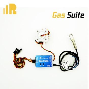 Sensor de Suite de Gas FrSky, Puerto inteligente habilitado y compatible con transmisión de datos telemetría para modelos de carreras de aviones RC, piezas de repuesto