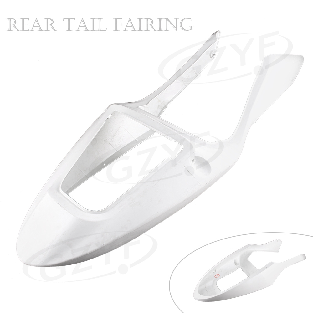Unpainted Tail Rear Fairing Cover Bodykits Bodywork for Honda CBR600 F4i 2001 2002 2003, ABS Plastic allgt raw abs plastic unpainted tail rear fairing for honda cbr 1100rr 1997 2007