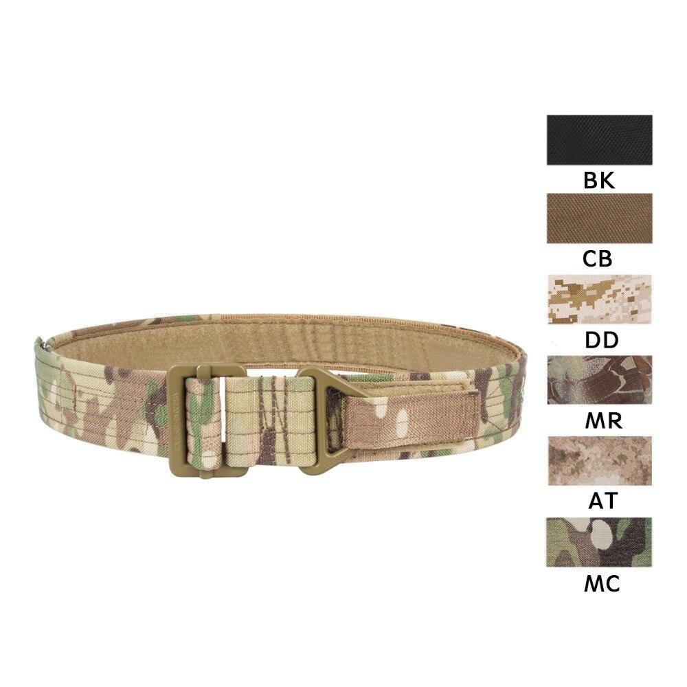 Tactical CQB Rigger's Belt EmersonGear Survival Emergency Rescue Adjustable Hook & Loop Belt