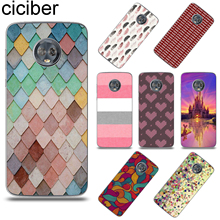 цена ciciber Stripe Background Cover For Motorola Moto G6 G5 G5S E5 E4 C Z2 Z3 ONE P30 G4 Plus Play Power M X4 Soft TPU Phone Case онлайн в 2017 году