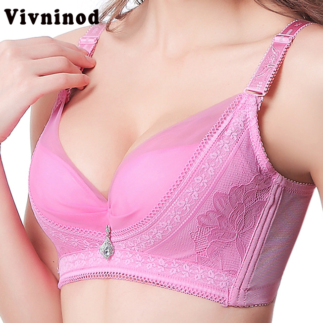 62c15641d sexy women push up bra XXX plus size bralette bras Large size bra Lace Sexy  underwear for Women V secret 34AB 36AB 38AB MM bra