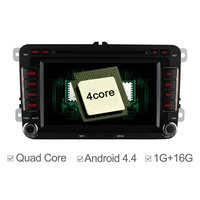 7 Quad Core Android 4 4 Car DVD GPS For VW Golf Polo Passat Tiguan EOS