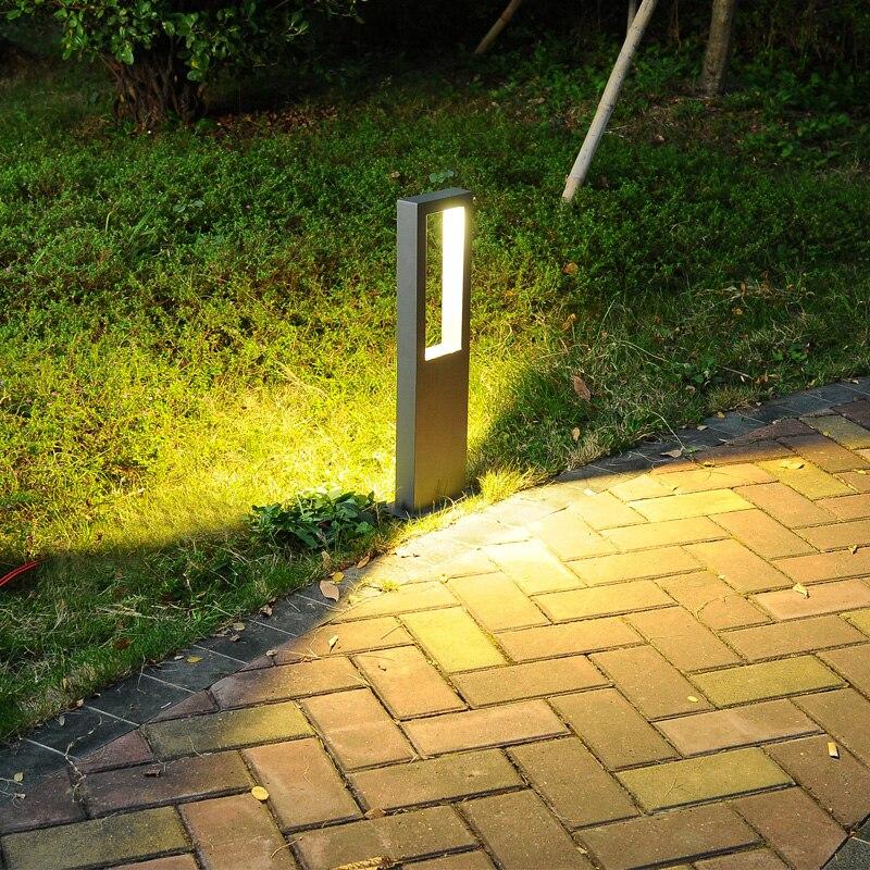 ip65 lampada do gramado simples moderno 03
