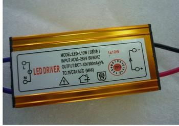 10W 900MA LED Constant Current Driver Floodlight Lamp 10PCS/lot