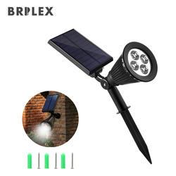 BRILEX солнечные лампы лампа с солнечной батареей Пейзаж солнечный свет автоматический вкл/выкл сенсор садовая дорога двор на открытом