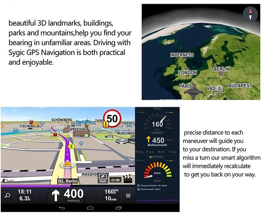 "6.86"" inch 4G ADAS Car DVR Dash Cam Mirror GPS Bluetooth WIFI Android 5.0 Dual Lens FHD 1080p Video Recorder Camera 9"