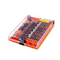 45 in 1 Multifunktions Schraubendreher Set Multitool Torx Schraubenzieher Kit Reparatur Für Iphone Laptop Tablet Uhrenbox Werkzeuge