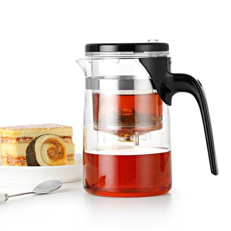Samadoyo E-01 Alto Grau Gongfu Bule & Caneca de 500 ml Bule de Vidro SAMA Art Tea Cup para Dian Chá Preto Hong Chá Da Hong Pao