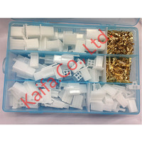 40 Pcs Lots Practical Auto Electrical 2 3 4 6 Pin 2 8 Mm Wire Terminal