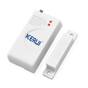 Image 2 - 5pcs/lots Wireless Door Window Magnetic Sensor for Home Security Voice Burglar GSM G18 Alarm System
