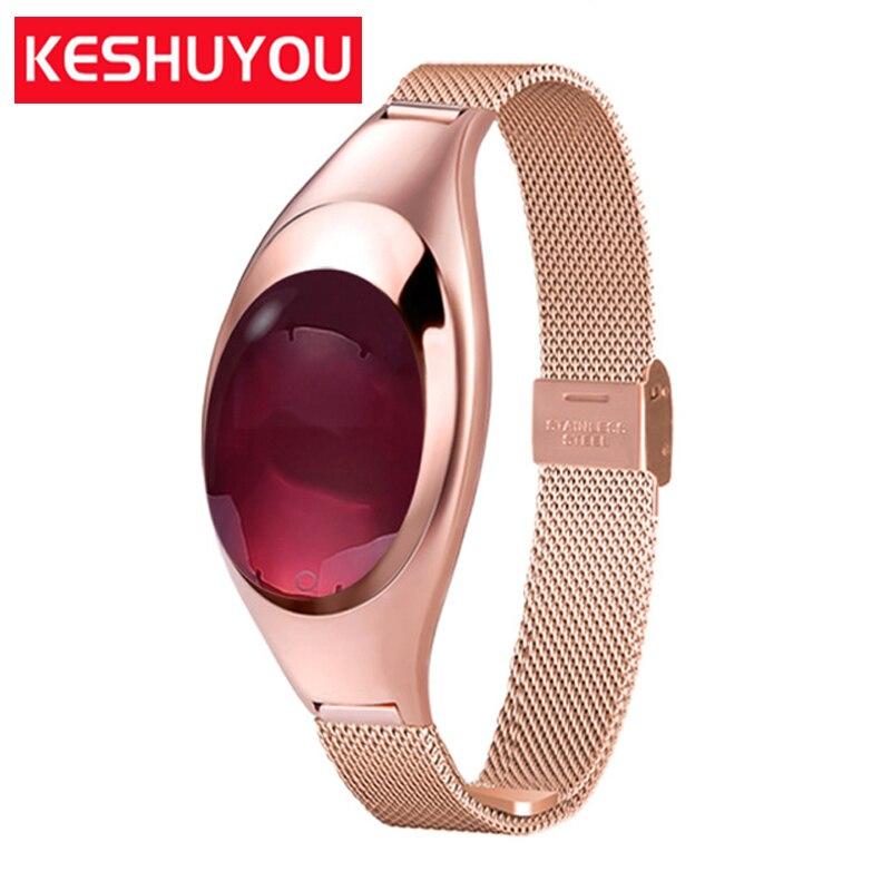Z18 Smart Watch Bluetooth Heart Rate Tracker Clever Watchs Waterproof Woman Smartwatch Passometer watchs andriod 4.4 Iso 8.0