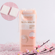 500Pcs/Bag Korean Facial Organic Cotton Pads Facial Cleaning Nail Polish Remover