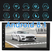 Quality Car Stereo GPS Navigation Radio Player Double Din WIFI 7 Inch Touch For Android