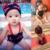 Traje de baño del bebé niños lindo Alas de Ángel y Diablo Spa traje de baño recién nacido patrón de personalidad niños nadar ropa sin Tapa