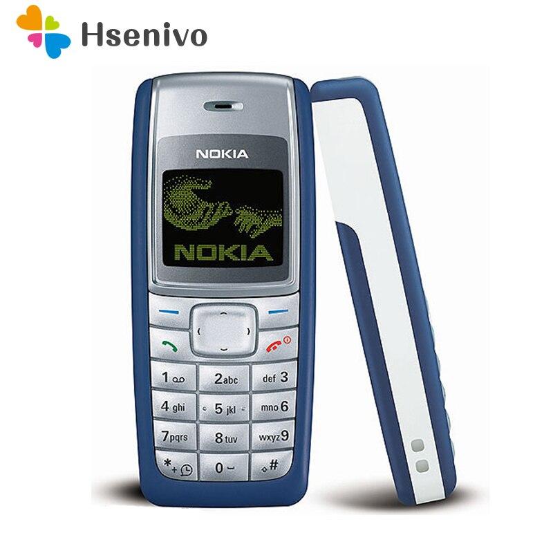 1110 Original Téléphone Mobile Nokia 1110 1110i Mobile Téléphone Débloqué pas cher Vieux Mobile Classique Téléphone 1 Année de Garantie remis à neuf