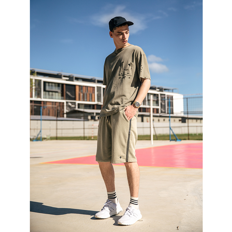 VIISHOW NEW Summer Mens Shorts Casual Short Brand Clothing Men Zip Size Shorts Men Knee Length Shorts KD1273172