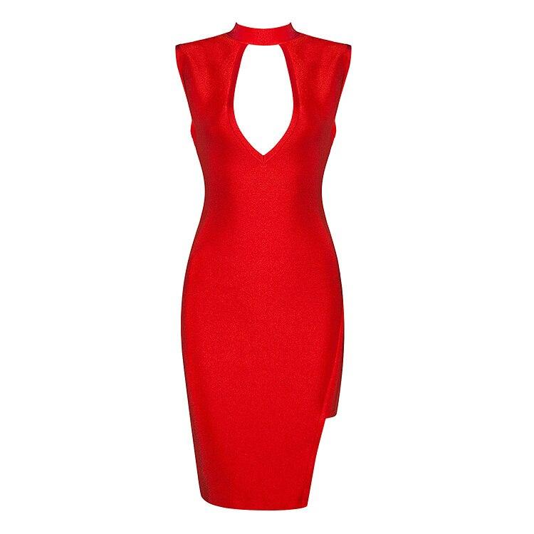 405693732e78 Новое поступление 2016 лето Средний открытый красный пикантные элегантные  Для женщин Лето bandge платье