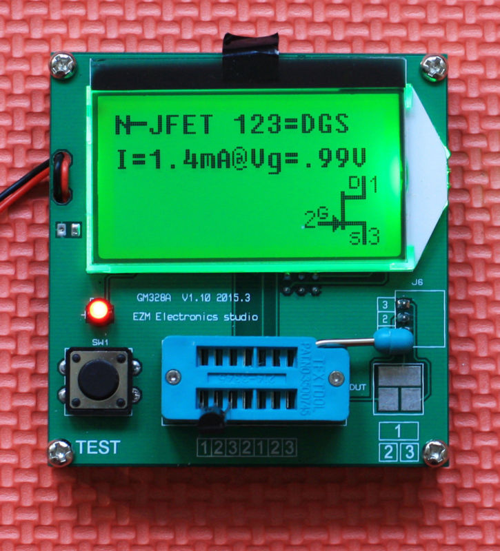 Electronic Component Tester : Gm m lcd digital combo lcr esr meter
