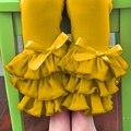 sienna triple leggings pants toddle girl full length legging girls icing ruffle leg pants new pattern