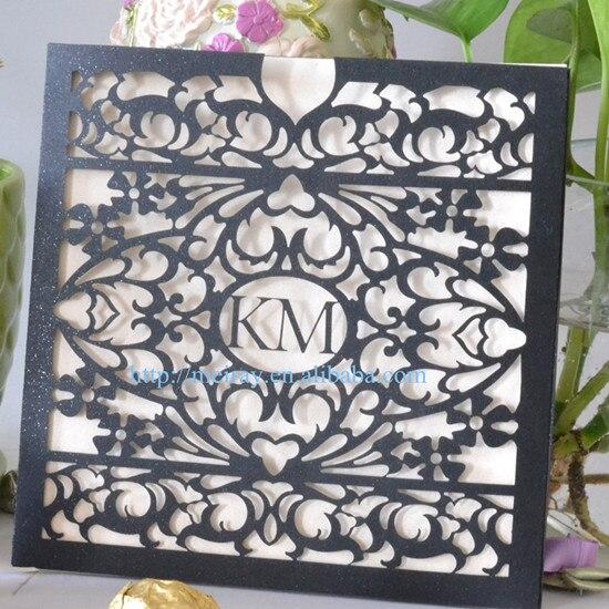 Invitations Cheap Wedding: 100pcs/lot Custom Arabic Wedding Invitation Cards,cheap
