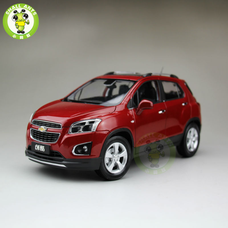 1 18 us gm chevrolet trax 2013 mini suv diecast car suv model red in diecasts toy vehicles. Black Bedroom Furniture Sets. Home Design Ideas
