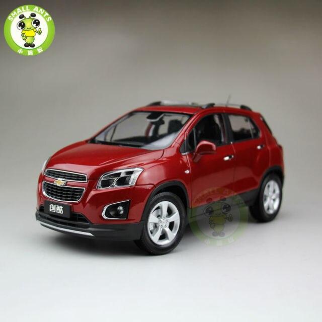 118 Us Gm Chevrolet Trax 2013 Mini Suv Diecast Car Suv Model Red In