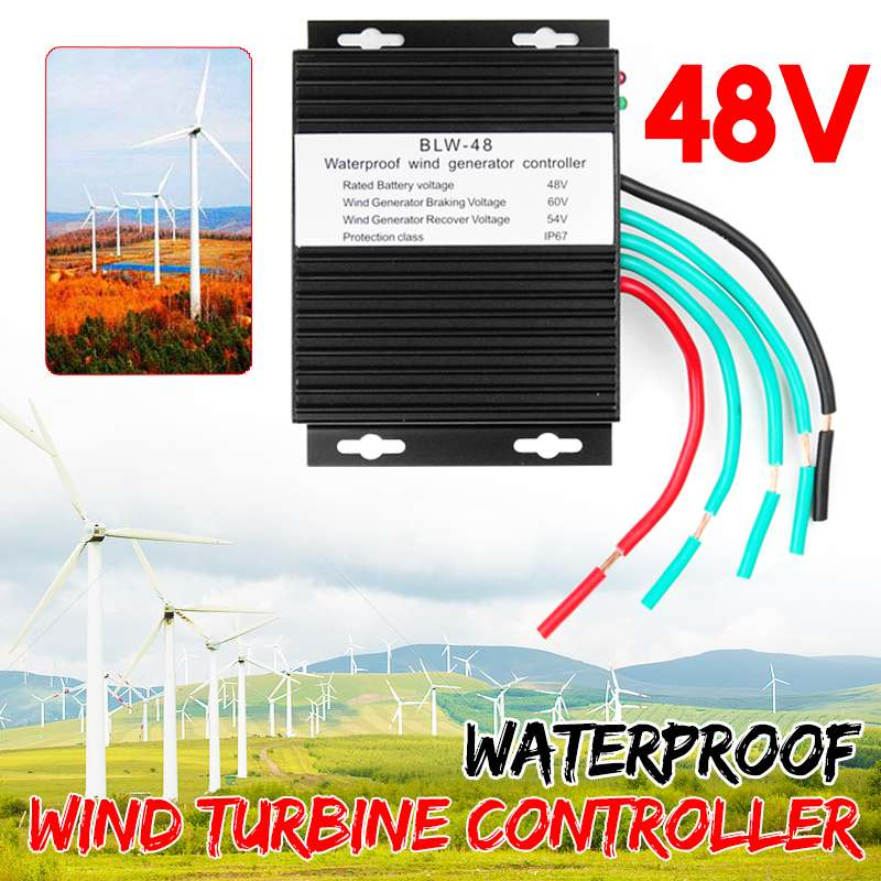 High Efficiency 48V Wind Turbines Generator Charge Controller Waterproof IP67 Wind Generator Controller