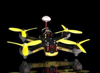 Emax NightHawk PRO 200ARF 200 PNP Quadcopter with Lightning_S 25A F3 Flight Controller T5050 Tri Blade Propeller RS2205 Motor