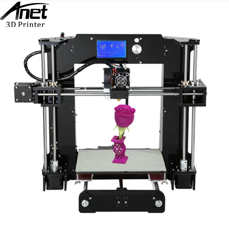 ANET A6 3D printer Prusa i3 RepRap Easy Assemble 3D Printer Filament Kit DIY SD card