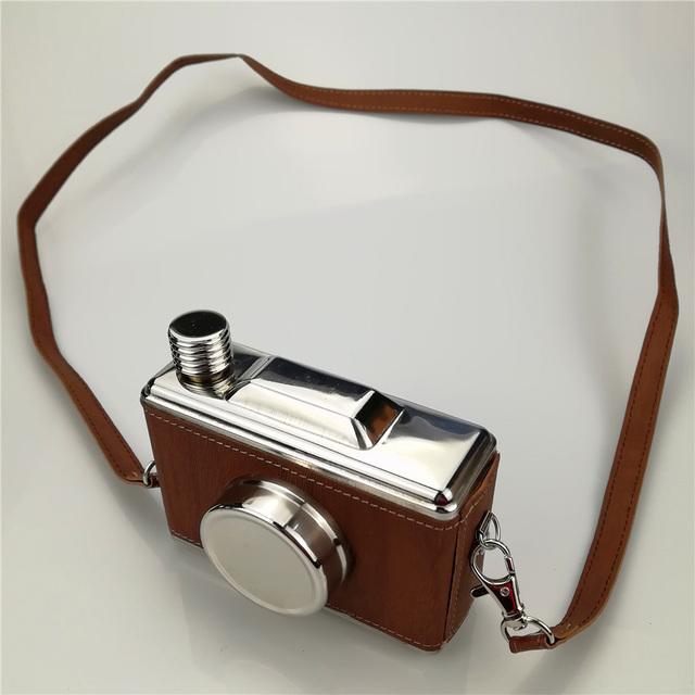 Camera Shaped Hip Flask