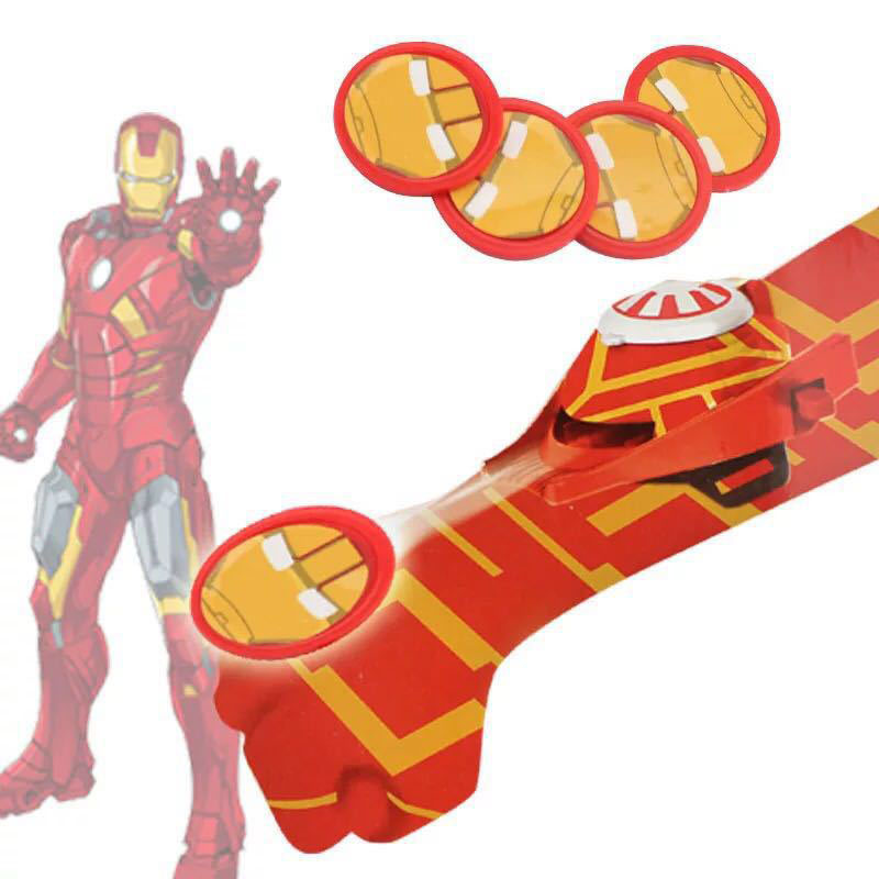 Spiderman Batman Iron Man Wrist Launcher Handschuhe Kinder Cosplay Spielzeug DE