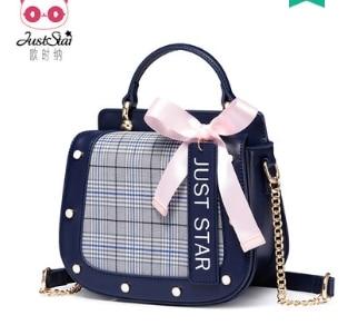 Princess sweet lolita bag Autumn and winter fashion single shoulder bag satchel Korean ribbon bow tie chain bag women 171985