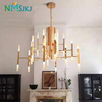 Modern Acrylic Led Pendant Lamp Nordic Living Room Kitchen Designer Hanging Lamps Avize Suspension Luminaire