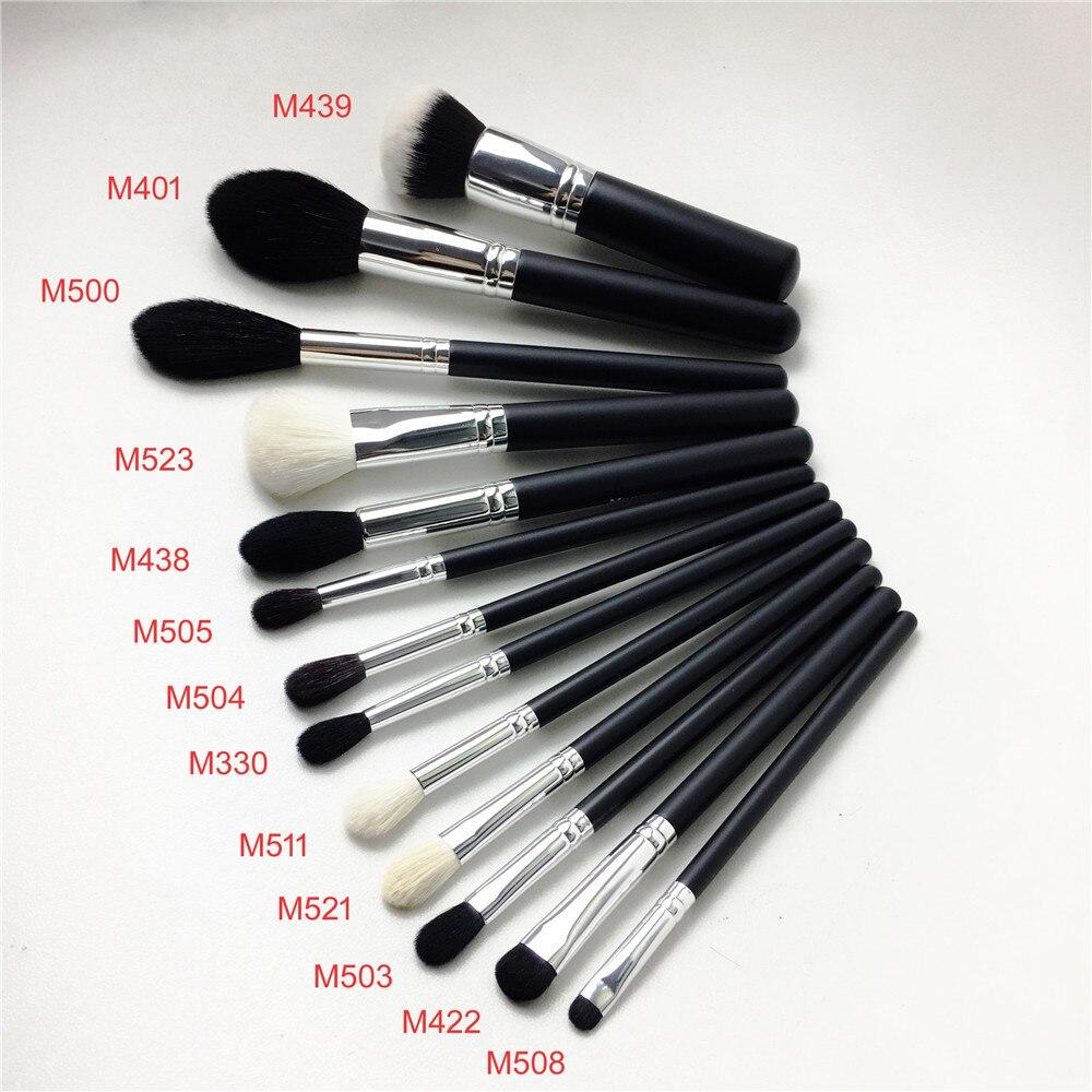 13/15 piezas cepillo conjunto (M104 M330 401, 422, 439, 438, 500, 503 M504 M505 M508 M510 M511 M521 m523) belleza maquillaje cepillo licuadora herramienta