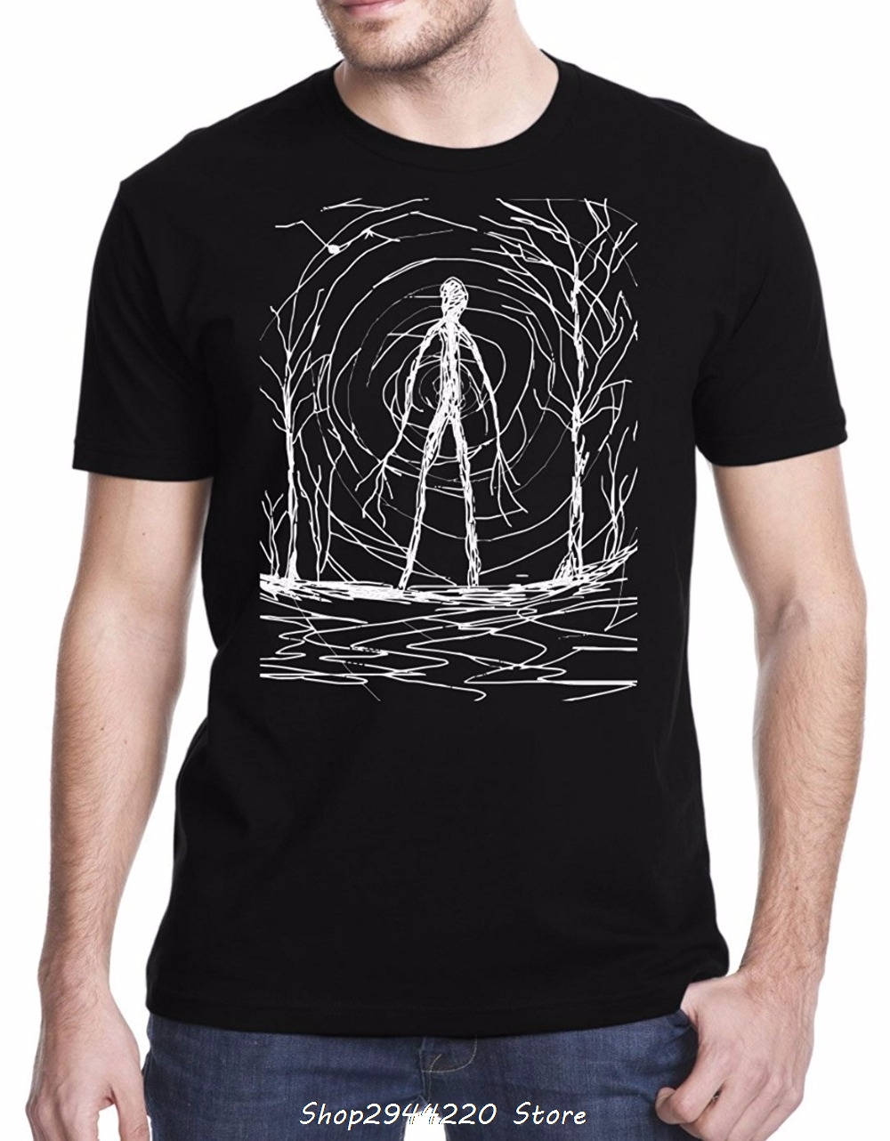 Ray oak band 2017 brand clothing t shirt cotton short for Band t shirts for men
