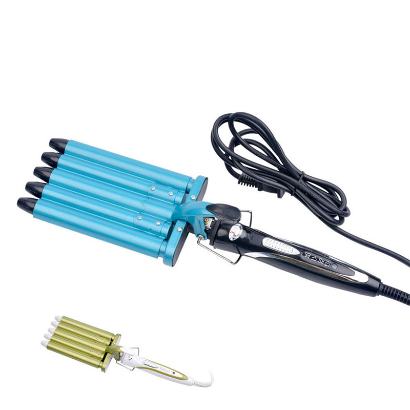 Hair Styling Tools Hair Curling Iron Curler 5 Barrels Nano Titanium Ceramic Hair Curler Rollers Curling Wand Hair Wave Curler