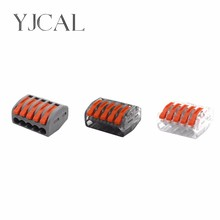 Wago Type 222-415 10PCS Universal Compact Wiring Conector Terminal Block Connectors Terminator Wire Connector AWG 28-12 wago type 222 412 413 415 10pcs universal compact wiring conector terminal block connectors terminator wire connector awg 28 12 page 9