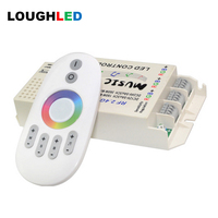 2 4G Wireless RF Music RGB LED Controller DC12V 24V Or DC5V 15A 3 5A Sound