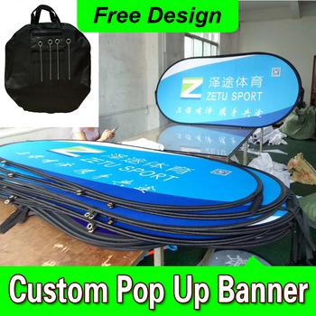 Free Design Free Shipping Horizontal A Frame Banner Pop Out Banner Banner Frame