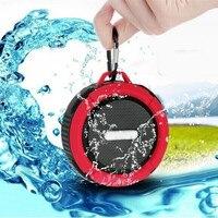 Outdoor Draagbare Bluetooth Speaker Robuuste Waterdichte Speakers Draadloze Mini Hand Speaker Reizen Sport Klankkast met Zuignap