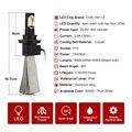 Lâmpada led H13 LED Farol Farol 72 W 8000LM Super Carro de Conversão Kit H7 H8/H9/H11 9005 9006 H1 H3 H4 LEVOU lâmpada Do Farol kit