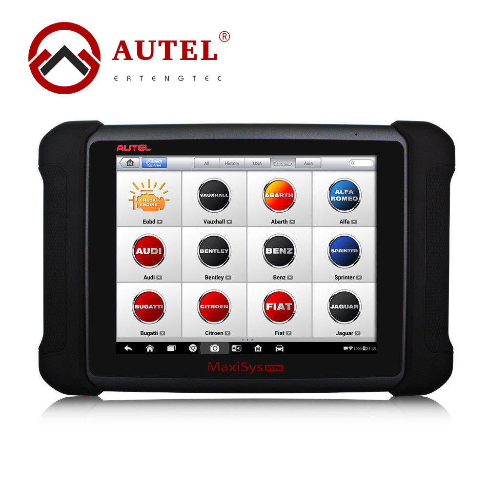 """Autel MaxiSys MS906 Automotive Diagnostic Tool Full Package Powerful Than Autel MaxiDAS DS708 Update Online 9.7"""" Touch Screen"""